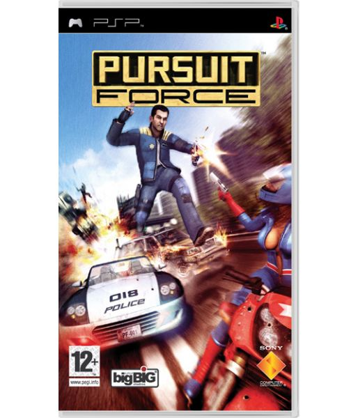 Pursuit Force [Essentials] (PSP)