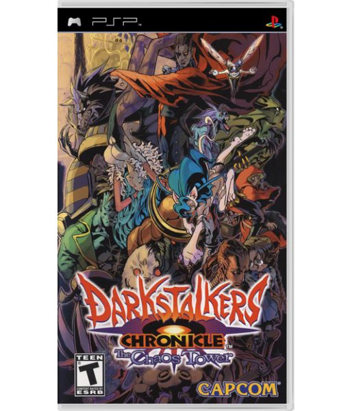 Darkstalkers Chronicle: The Chaos Tower [Essentials] (PSP)