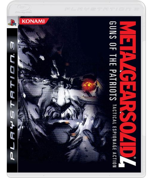 Metal Gear Solid 4 Guns of the Patriots [Platinum] (PS3)