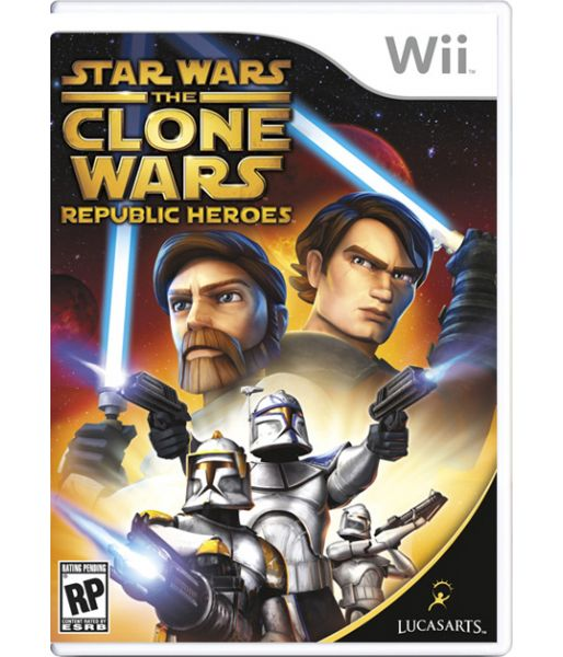 Star Wars the Clone Wars: Republic Heroes (Wii)