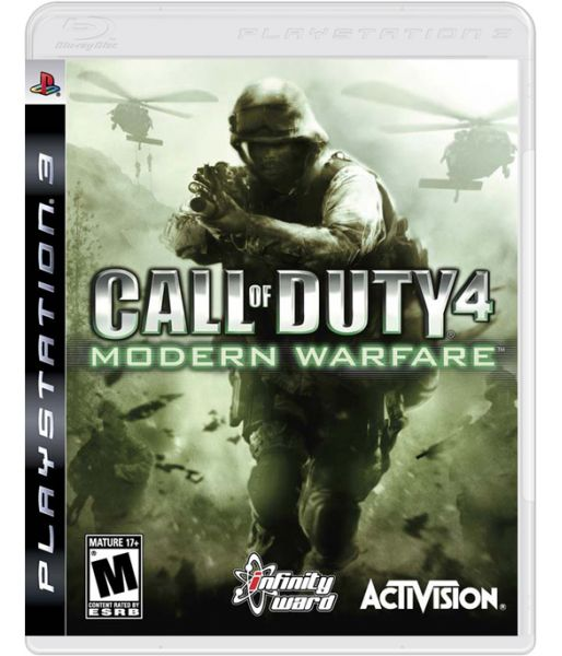 Call of Duty 4 Modern Warfare Game of the Year Edition (PS3)