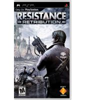 Resistance: Retribution [Platinum, русская документация] (PSP)