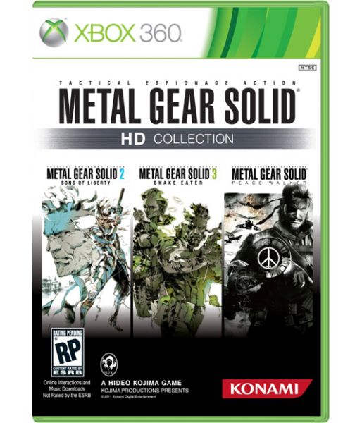 Metal Gear Solid HD Collection (Xbox 360)