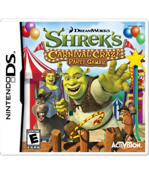 DreamWorks Shrek Carnival Craze Party Games (NDS)