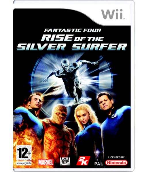 Fantastic Four: Rise of the Silver Surfer (Wii)