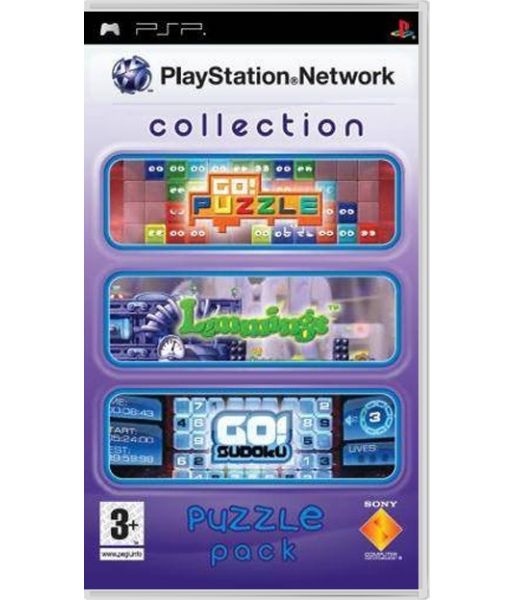 PlayStation Network Collection. Puzzle Pack (PSP)
