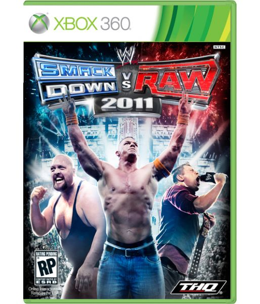 WWE Smackdown vs Raw 2011 [русская документация] (Xbox 360)