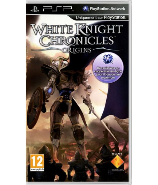 White Knight Chronicles: Origins [Essentials, русская документация] (PSP)