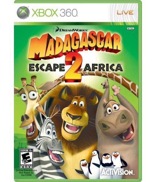 Madagascar: Escape 2 Africa (Xbox 360)