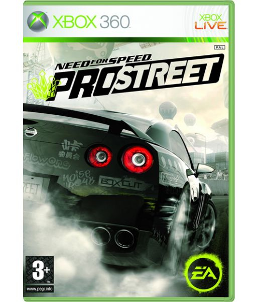 Need for Speed: ProStreet [русская версия] (Xbox 360)