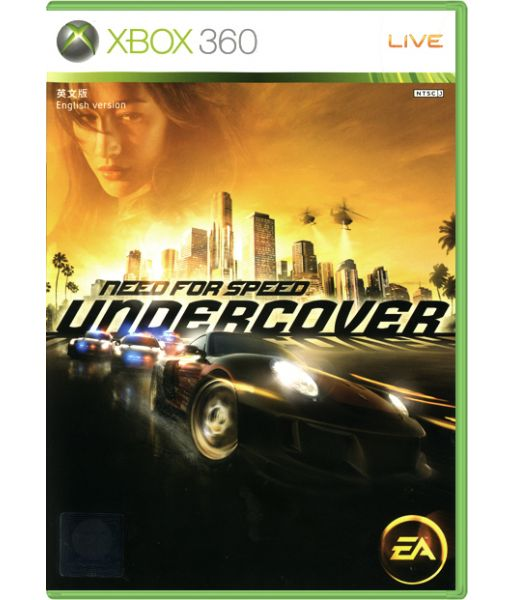 Need for Speed: Undercover [Русская версия] (Xbox 360)