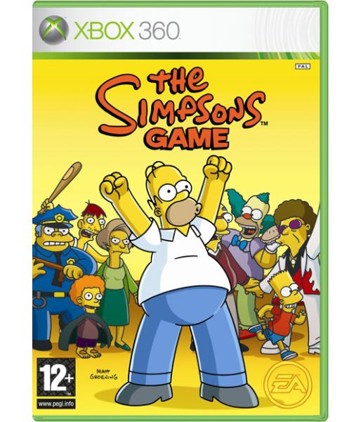 The Simpsons: Game [Classic] (Xbox 360)
