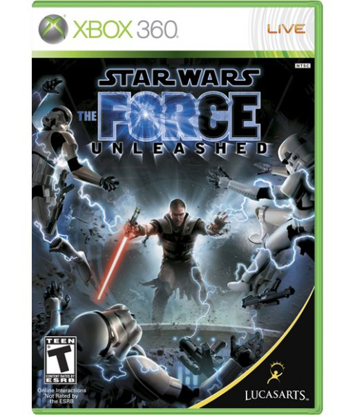Star Wars: The Force Unleashed [Classics, русская документация] (Xbox 360)