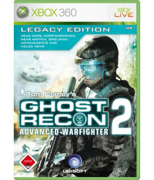 Tom Clancy's Ghost Recon Advanced Warfighter 2: Legacy Edition (Xbox 360)