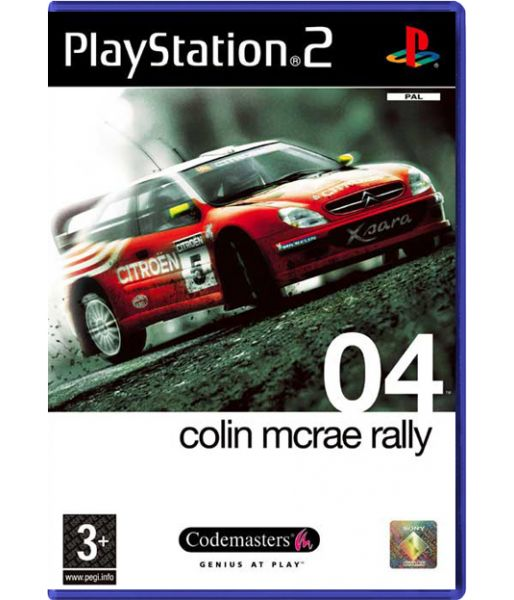 Colin McRae Rally 04 (PS2)