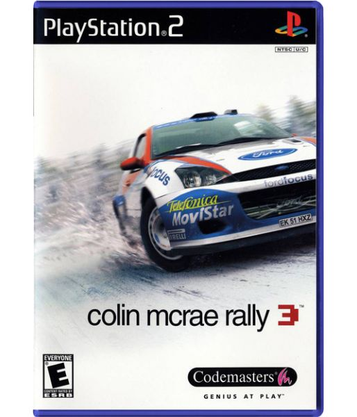 Colin McRae Rally 3 (PS2)