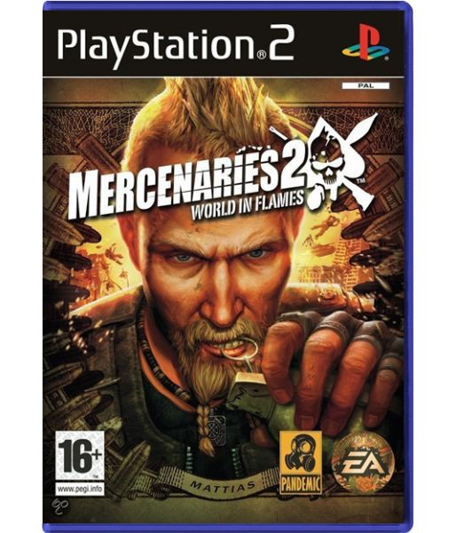 Mercenaries 2: World In Flames (PS2)