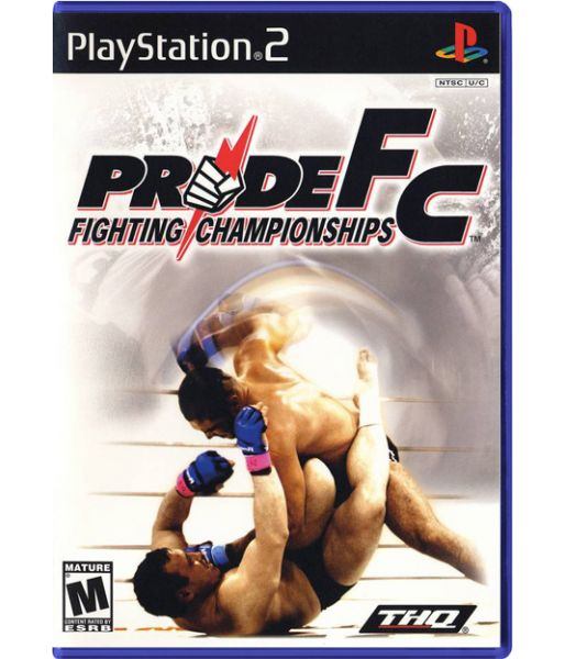 Pride Fighting Championship + A Pride Fighting Championship DVD (PS2)