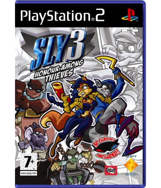 Sly 3: Honour Among Thieves (PS2)