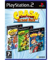 Crash Bandicoot Action Pack [Nitro Kart + Twinsanity + Tag Team Racing] (PS2)