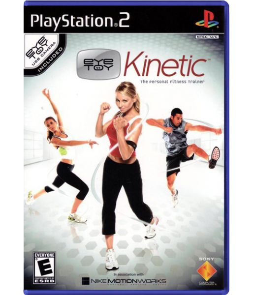 EyeToy: Kinetic (PS2)