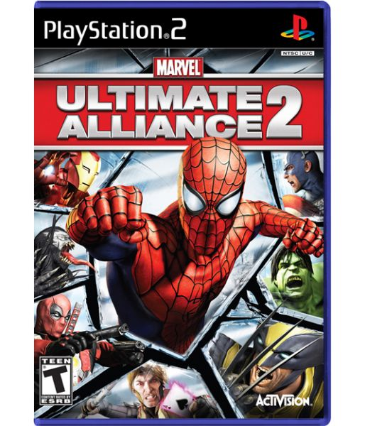 Marvel Ultimate Alliance 2 (PS2)
