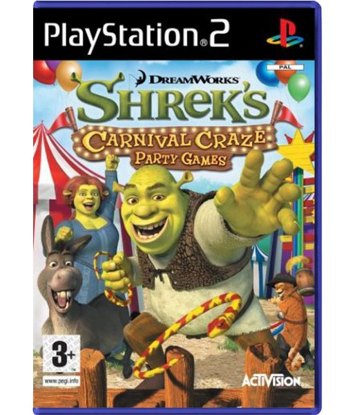 Shrek's Carnival Craze Party Games (PS2)
