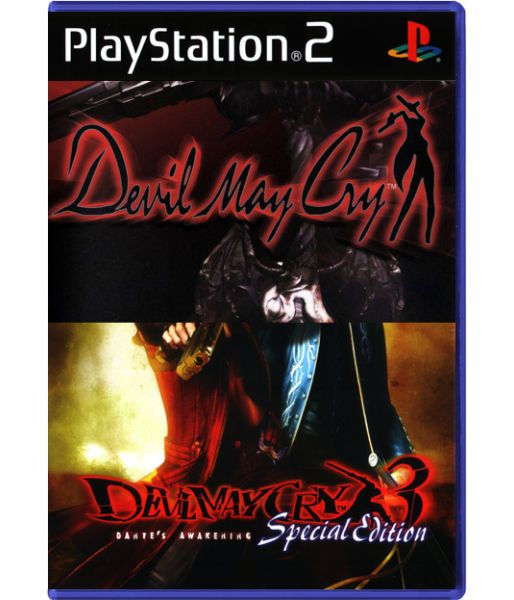 Комплект: Devil May Cry + Devil May Cry 3. Special Edition (PS2)