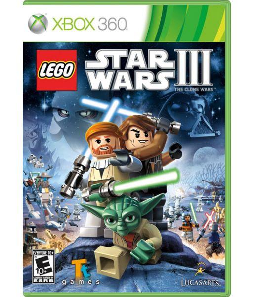 LEGO Star Wars III: the Clone Wars [русская документация] (Xbox 360)