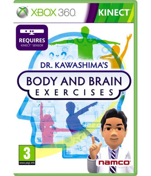 Dr. Kawashima's Body and Brain Exercises [только для Kinect] (Xbox 360)