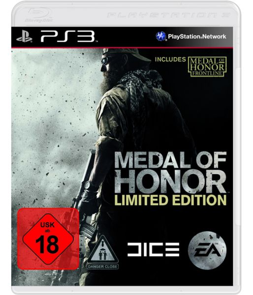 Medal of Honor. Limited Edition (PS3)