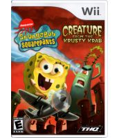 Spongebob Squarepants Creature from the Krusty Krab (Wii)