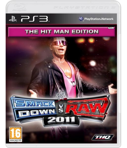 WWE Smackdown vs Raw 2011 The Hitman Edition (PS3)