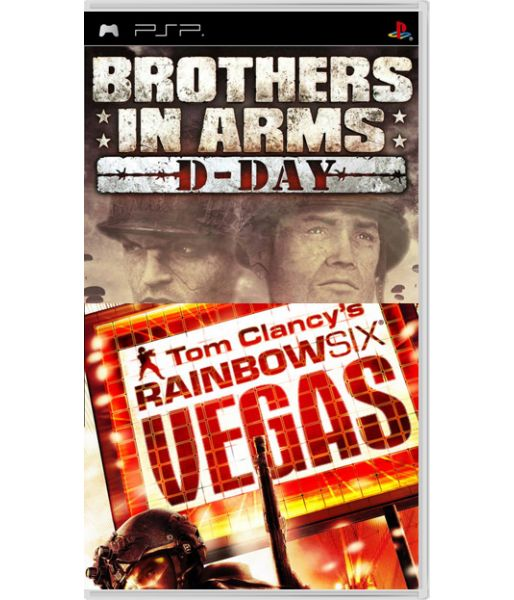 Комплект: «Brothers in Arms: D-Day» + «Tom Clancy's Rainbow Six Vegas» (PSP)