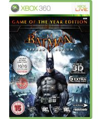 Batman Arkham Asylum - Game of the Year (Xbox 360)