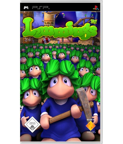 Lemmings [Essentials] (PSP)