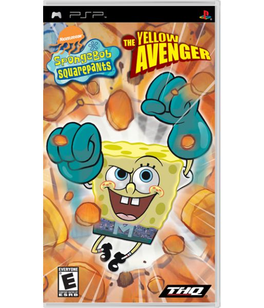 SpongeBob Squarepants: the Yellow Avenger [Essentials] (PSP)