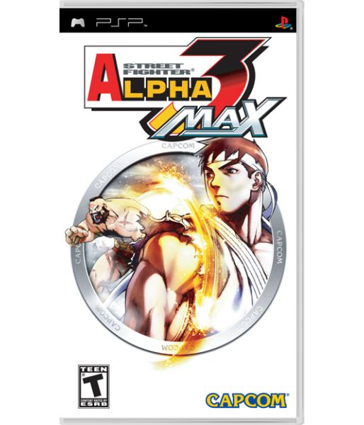 Street Fighter Alpha 3 Max [Essentials] (PSP)
