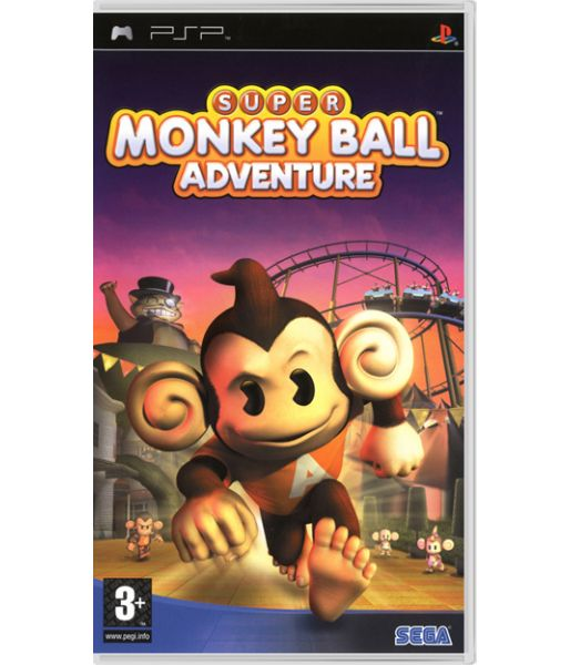 Super Monkey Ball Adventure [Essentials] (PSP)