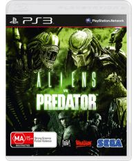 Aliens vs Predator (PS3) [Русская версия]