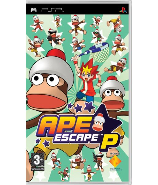 Ape Escape P [Essentials] (PSP)