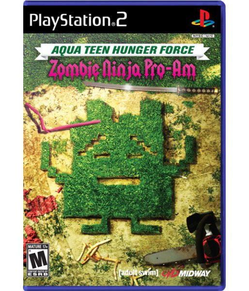 Aqua Teen Hunger Force Zombie Ninja Pro - Am  [русская инструкция] (PS2)
