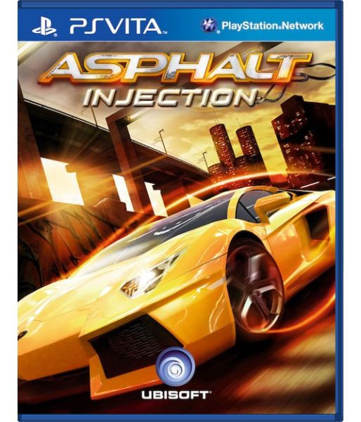 Asphalt Injection [русская документация] (PS Vita)