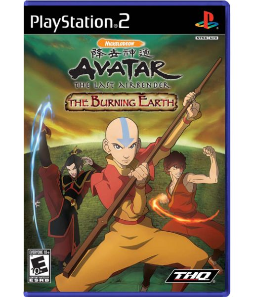 Avatar The Legend of Aang: The Burning Earth (PS2)
