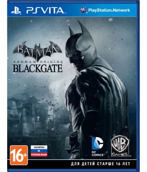 Batman: Arkham Origins Blackgate [Рус. субт.] (PS Vita)