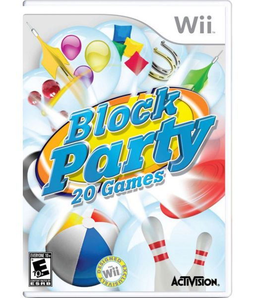 Block Party 20 Games (Wii)