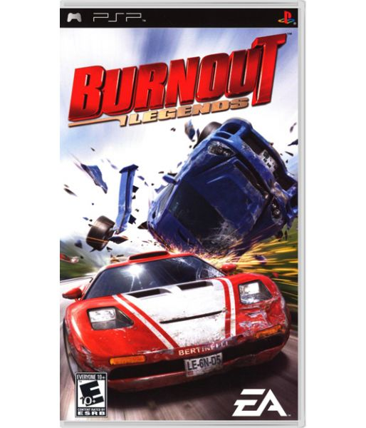 Burnout Legends [Platinum] (PSP)