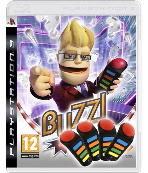 Buzz! Мировой турнир [игра + контролер Buzzers] (PS3)
