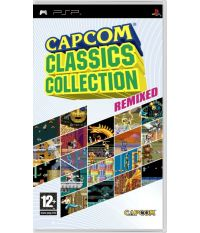 Capcom Classic Collection: Remix [Essentials, английская версия] (PSP)