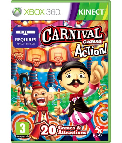 Carnival Games: In Action [только для Kinect] (Xbox 360)